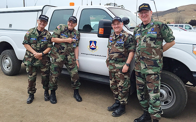 Chaplains at Encampment