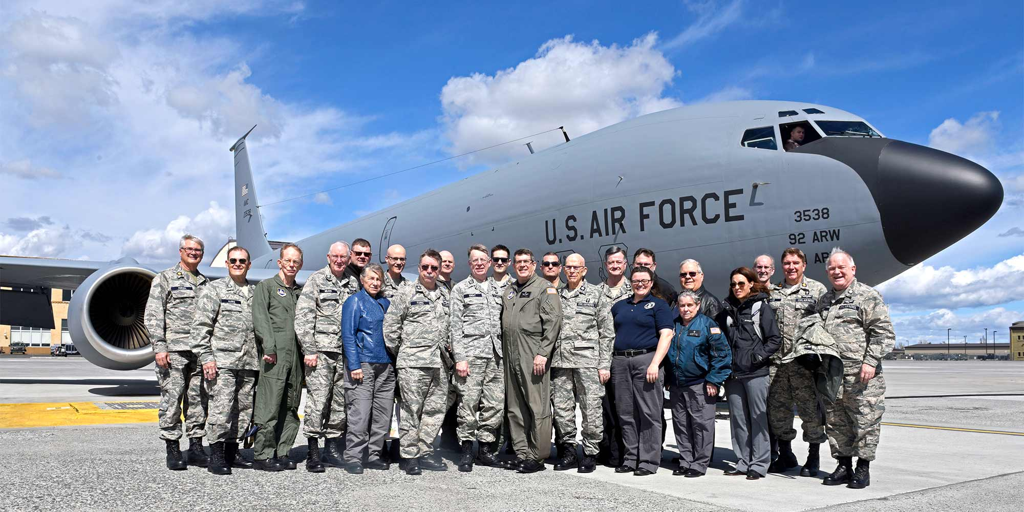 PCR Chaplains At Fairchild AFB
